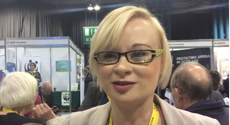 Interview with Laura Brennan-Whitefield . Councillor in North Ayrshire.